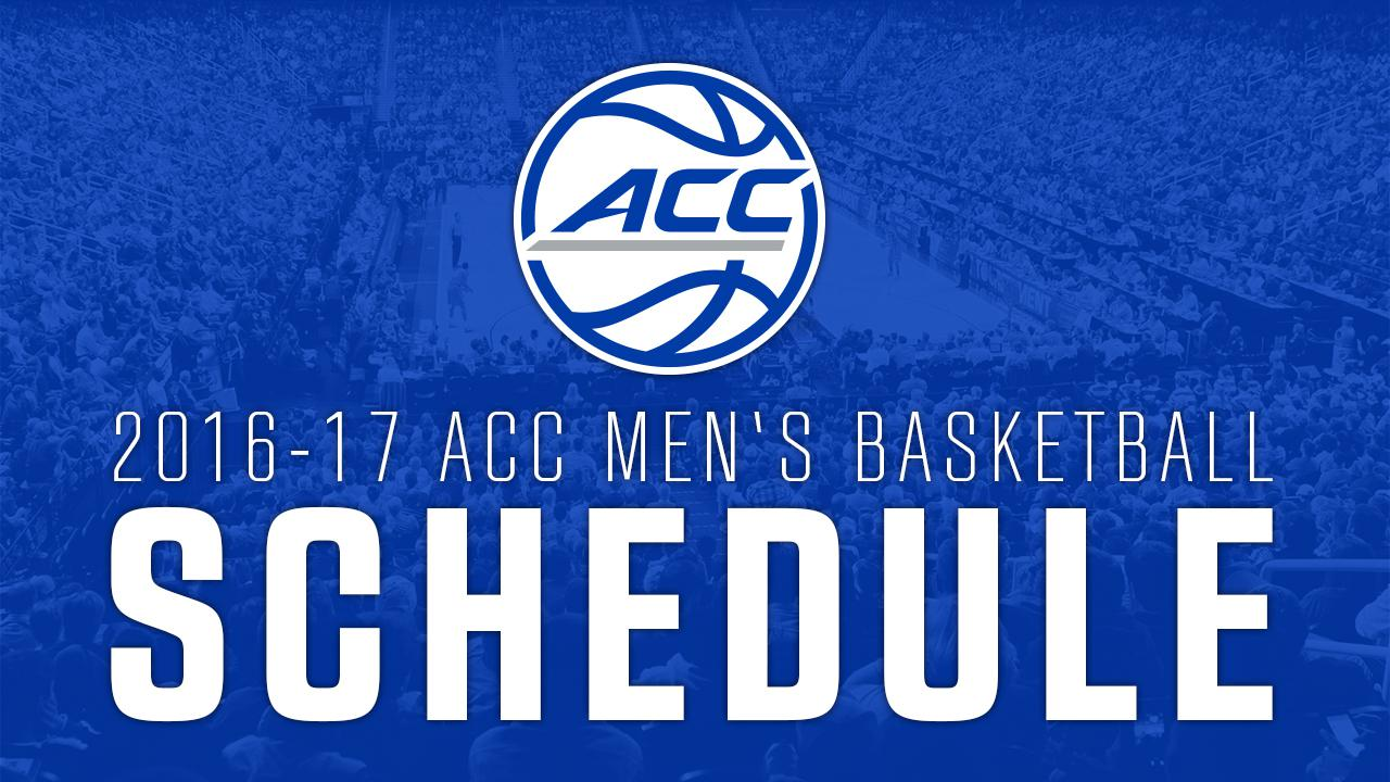 COMING AT 3:00 PM TODAY - The 2016-17 ACC Basketball ...