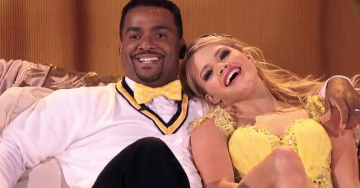 Alfonso Ribeiro Finally Did The Carlton On Dancing With