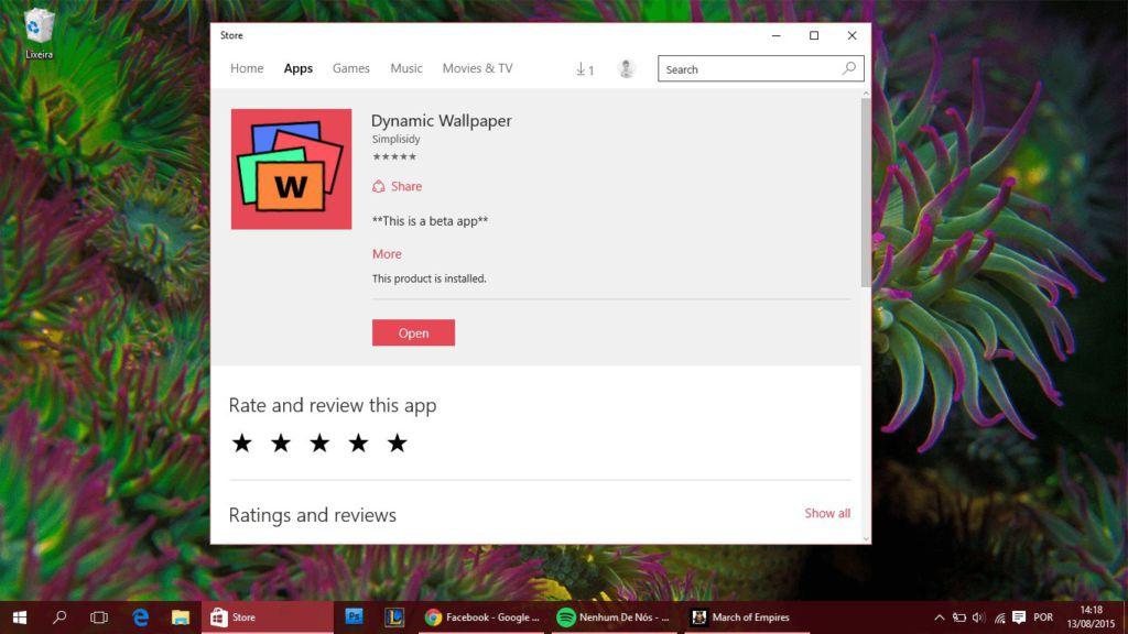 How to get daily <b>Bing</b> image as <b>wallpaper</b> on <b>Windows</b> <b>10</b>