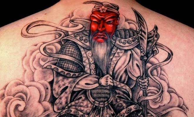 Japanese Batman Tattoo Japanese Samurai Tattoo Ideas
