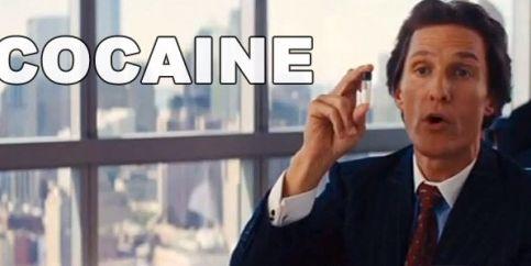 Matthew McConaughey's 'Wolf of Wall Street' Chest Thump ...