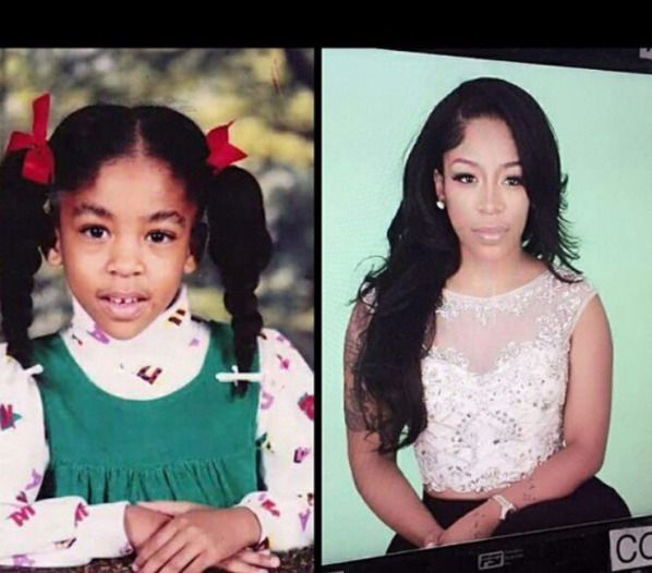 Before & After: K. Michelle Shuts Down Bleaching Rumors ... K Michelle Before And After