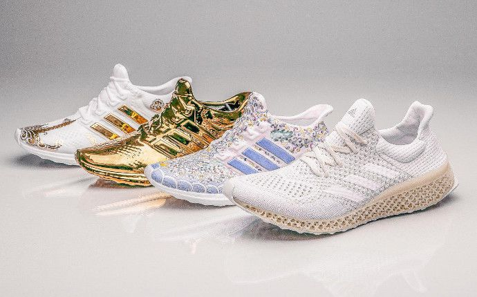 adidas rose gold plate