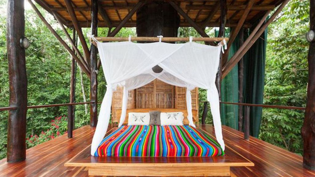 See Inside Couple's Gorgeous 3-story Treehouse In The