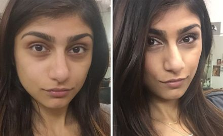 Mia khalifa before and after