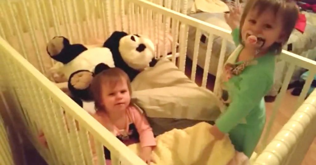 he hears strange noises from the baby monitor now watch when the twins get caught. Black Bedroom Furniture Sets. Home Design Ideas