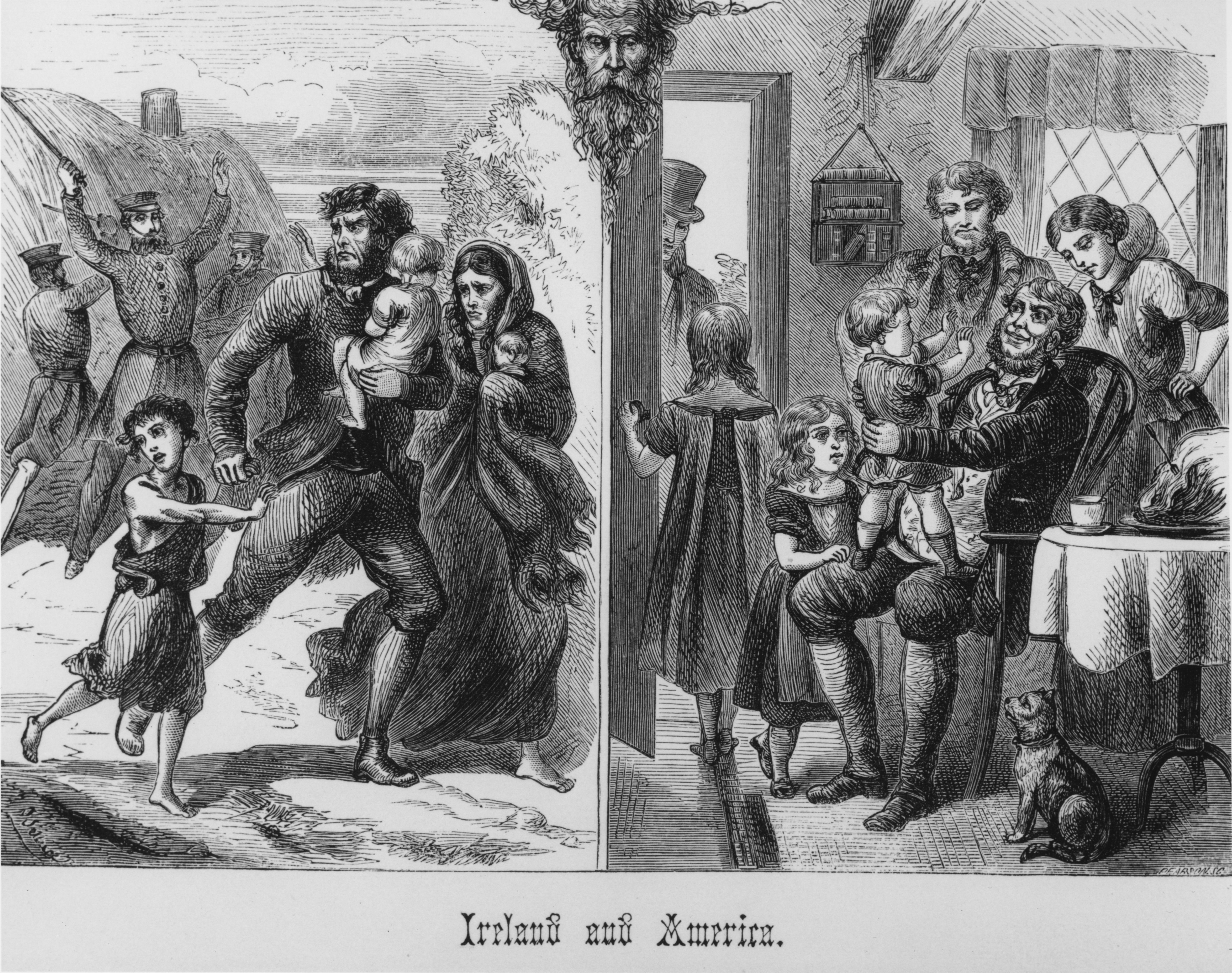 the struggles of immigrants in america The large influx of catholic immigrants into the united states in the mid to late nineteenth century drastically changed the perception of catholicism in america in the early 1800's, the american catholic population was a small sect of english catholics who were generally well educated and wealthy.