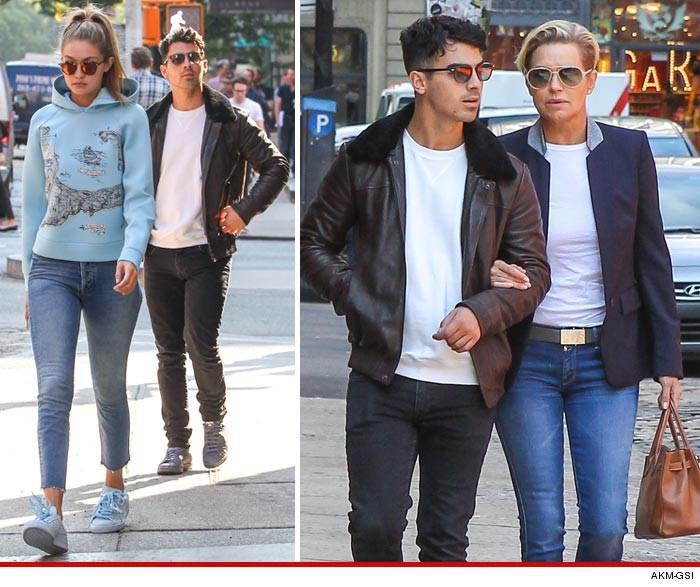 Gigi Hadid And Joe Jonas -- Apartment Hunting ... For One