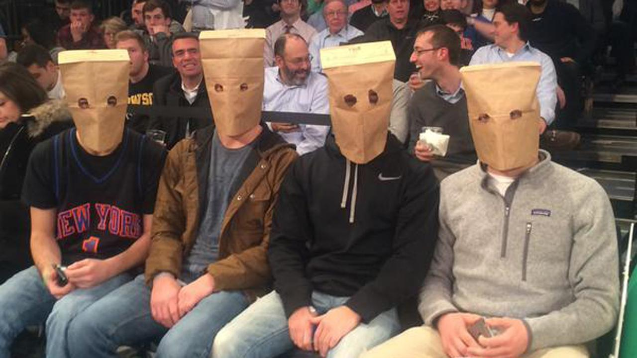 The Knicks Are So Bad Their Fans Are Wearing Paper Bags
