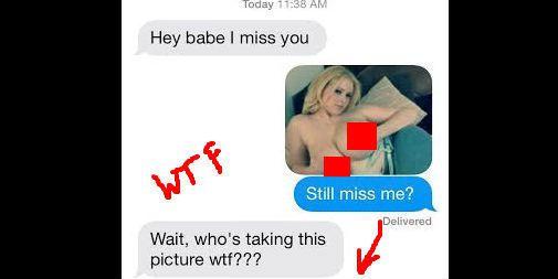 Ex gf sexts