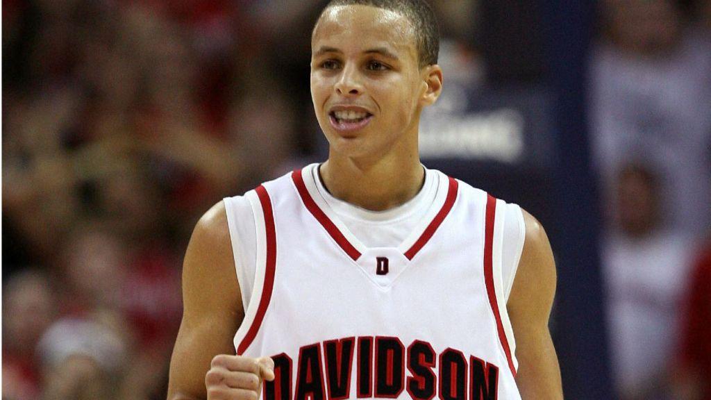 Stephen Curry Davidson Freshman