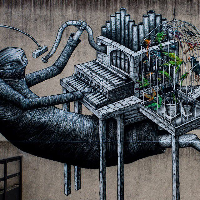 Caveman Urban Dic : The artwork of phlegm is seriously awesome caveman circus