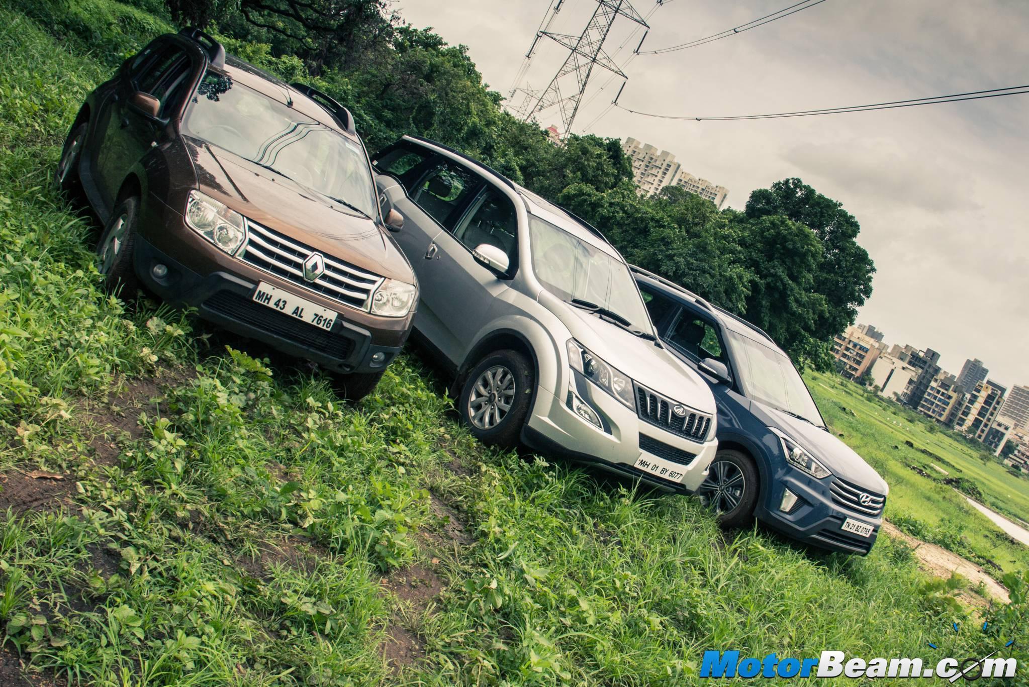 suv car sales in india in august 2015 hyundai creta shines. Black Bedroom Furniture Sets. Home Design Ideas