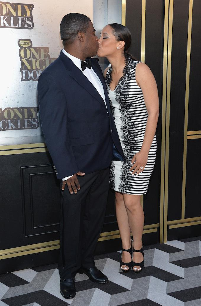 Snl Alum Tracy Morgan Marries Girlfriend Megan Wollover