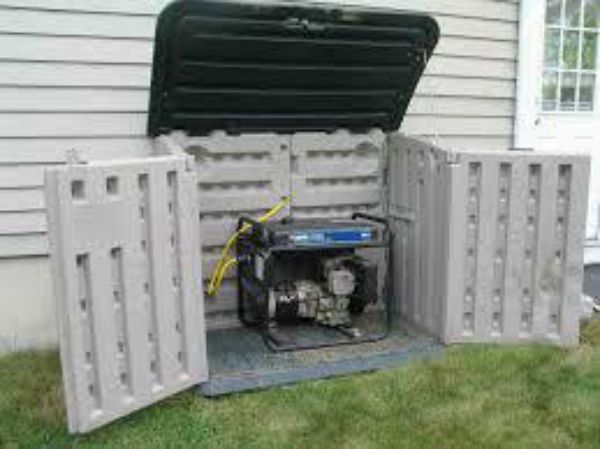 how to build a portable generator enclosure. Black Bedroom Furniture Sets. Home Design Ideas