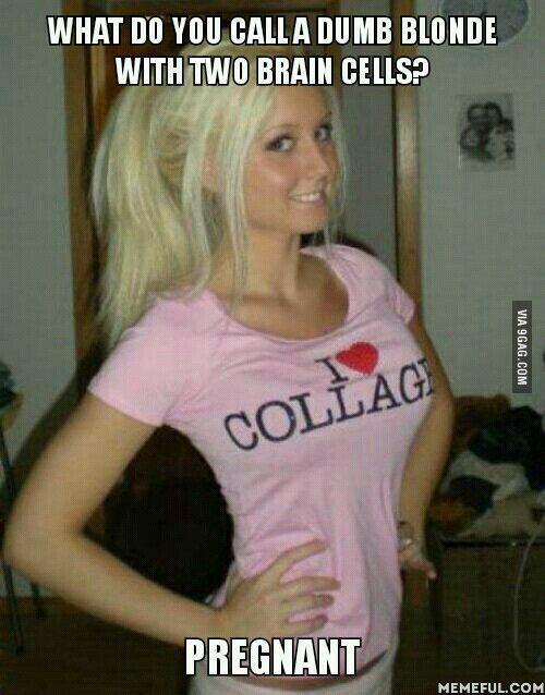 The Best Blonde Joke 45