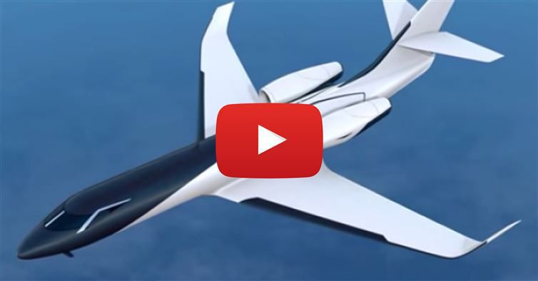 This Windowless Jet Is The Airplane Of The Future