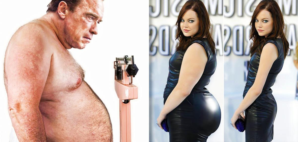 Pictures Of Fat Celebrities 102