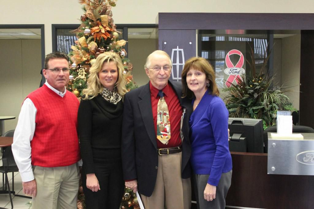 St Louis Ford Dealers >> Jack Gives Back St Louis Ford Dealership New Ford F150