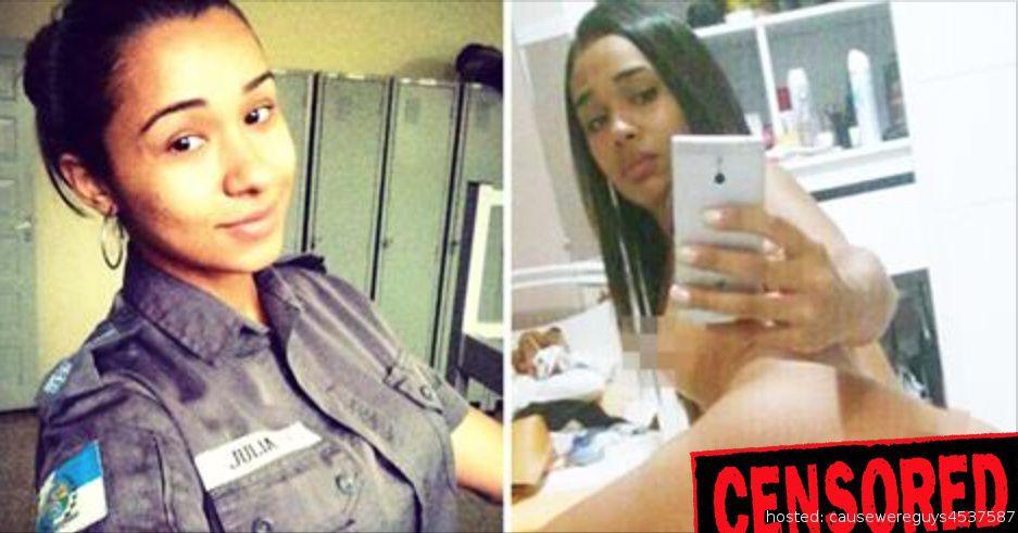 brazilian cop leaked nudes