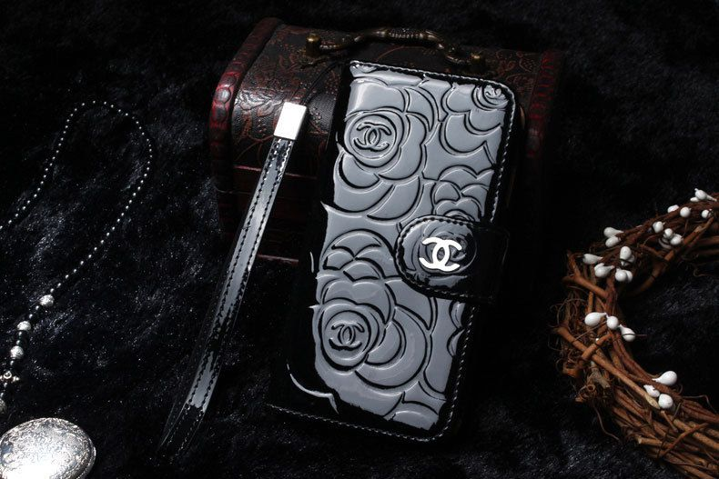 Chanel iPhone 6 Plus Case Pattern wallet case