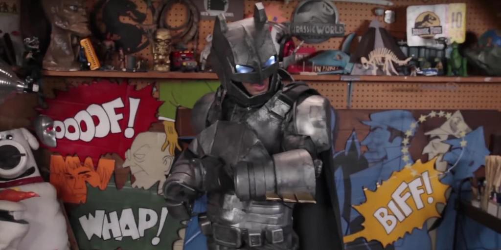 How to build a homemade Batman mech suit