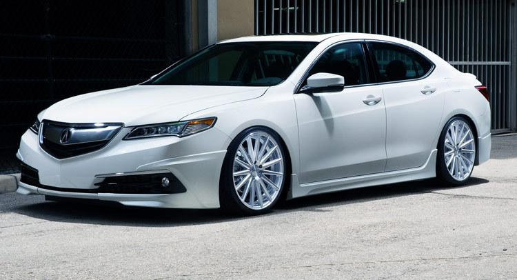 Carscoops 2015 Acura Tlx Sedan Tuned By Pembroke Pines