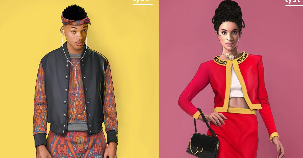 The Fresh Prince Of Bel-Air Cast, Re-Imagined For 2015-7821