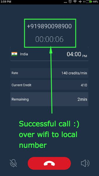 WhatsCall Review : Free Worldwide calls without Sim Card via
