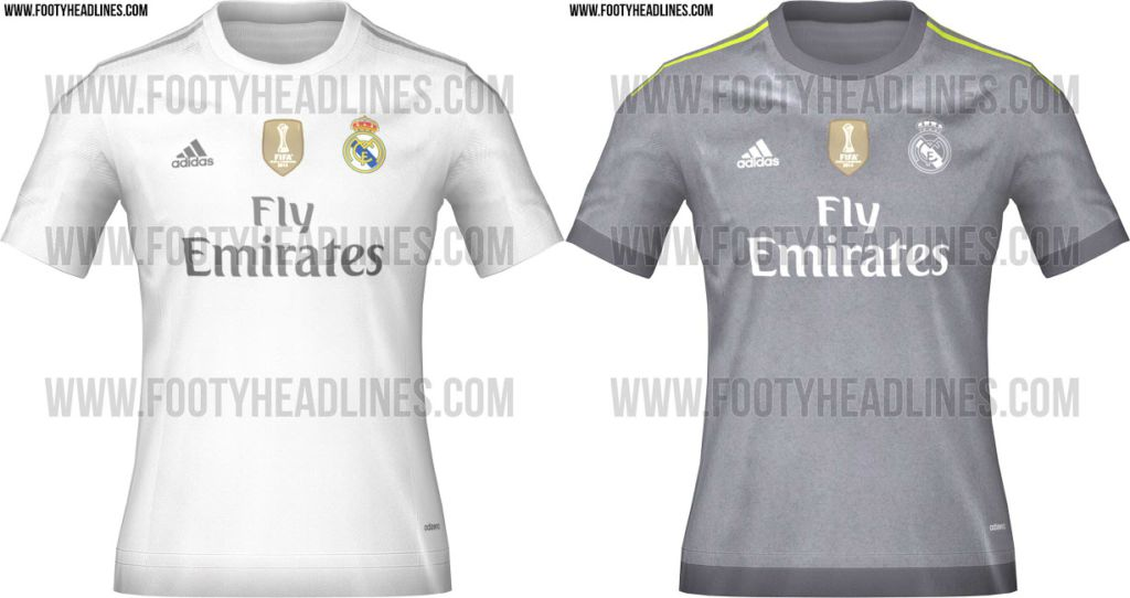 buy popular 9a745 7398b Real Madrid home and away kit for next season