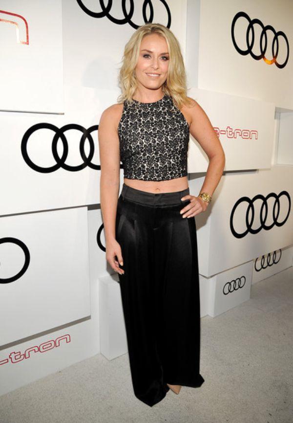 Lindsey Vonn Looking Hot At Emmy Week