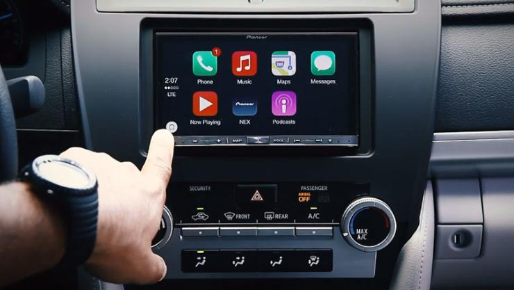 An extended drive with apple carplay for Honda apple play