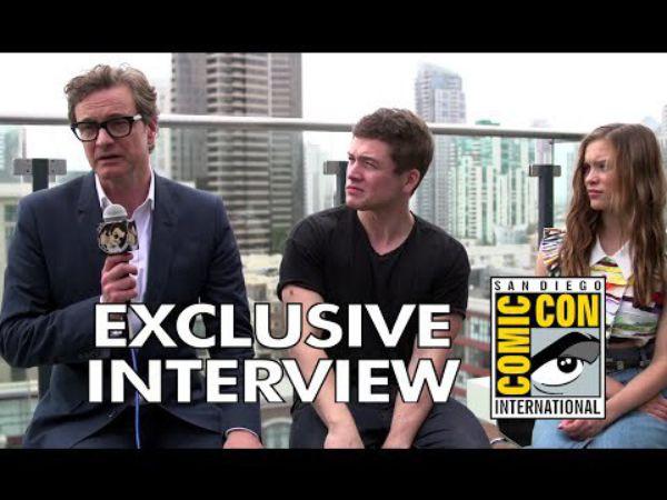 Taron Egerton And Sophie Cookson Interview For Kingsman: Comic Con 2014: Colin Firth, Taron Egerton & Sophie