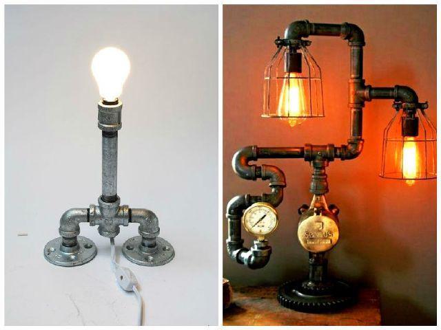 16 Functional Diy Pipe Lamp Design Ideas Architecture