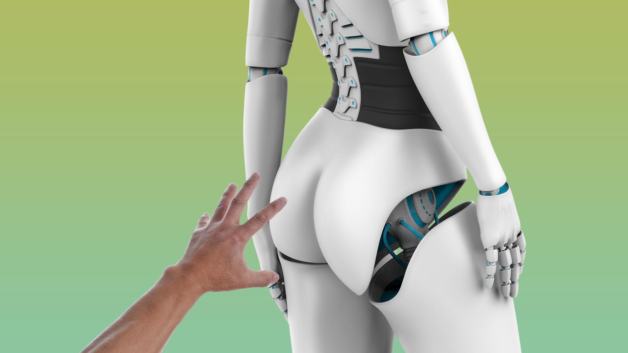 Робот трахает бабу считаю