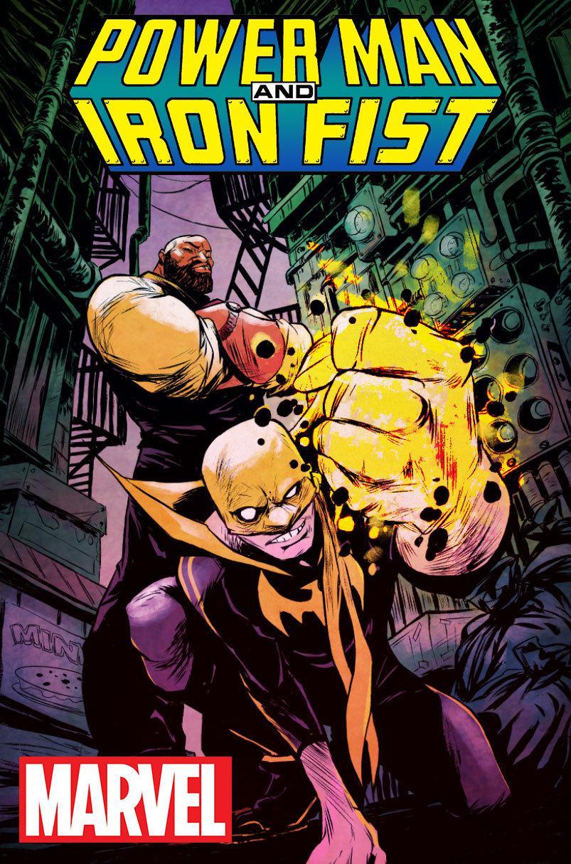 power man and iron fist comic - HD803×1214