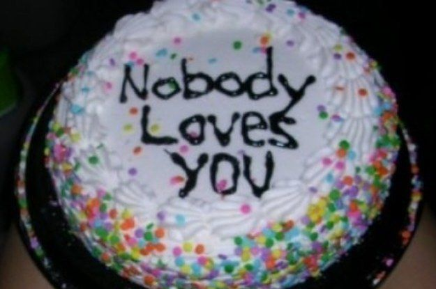 I Hate You Cakes