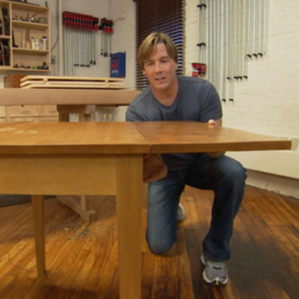 Watch Drop-Leaf Table (Ep 5) - Rough Cut - Woodworking with Tommy Mac - Season 2