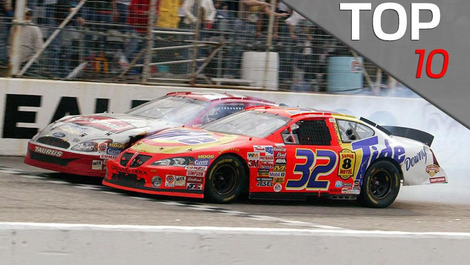 Top 10 Sprint Cup : Top closest sprint cup series finishes