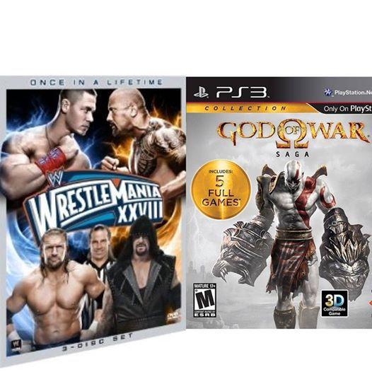 Dvd God of War 3 Win Your Wwe Dvd God of War