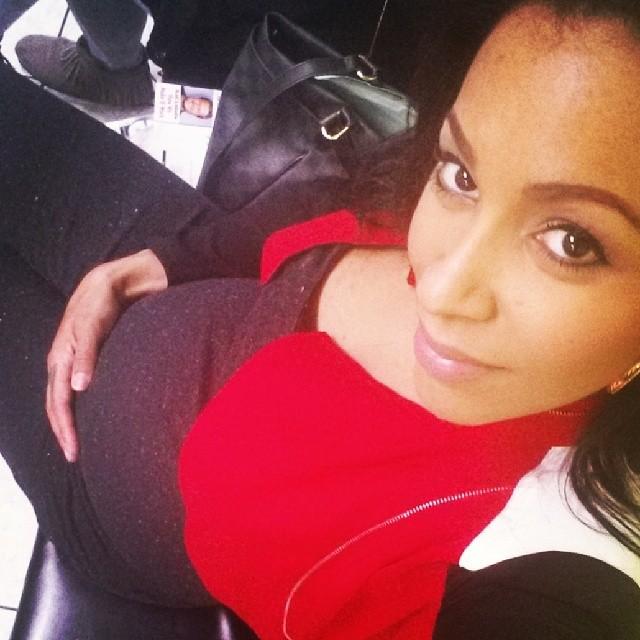 Amina Buddafly shows off pregnancy pics on Instagram