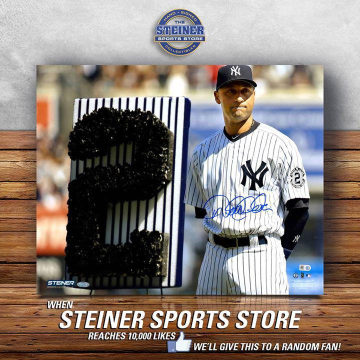 The official memorabilia provider of the New York Yankees, New York Knicks, Derek Jeter, Odell Beckham Jr., New York Rangers and more! Authenticity Guaranteed!