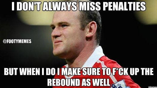 Wayne Rooney Memes Wayne Rooney vs Barcelona