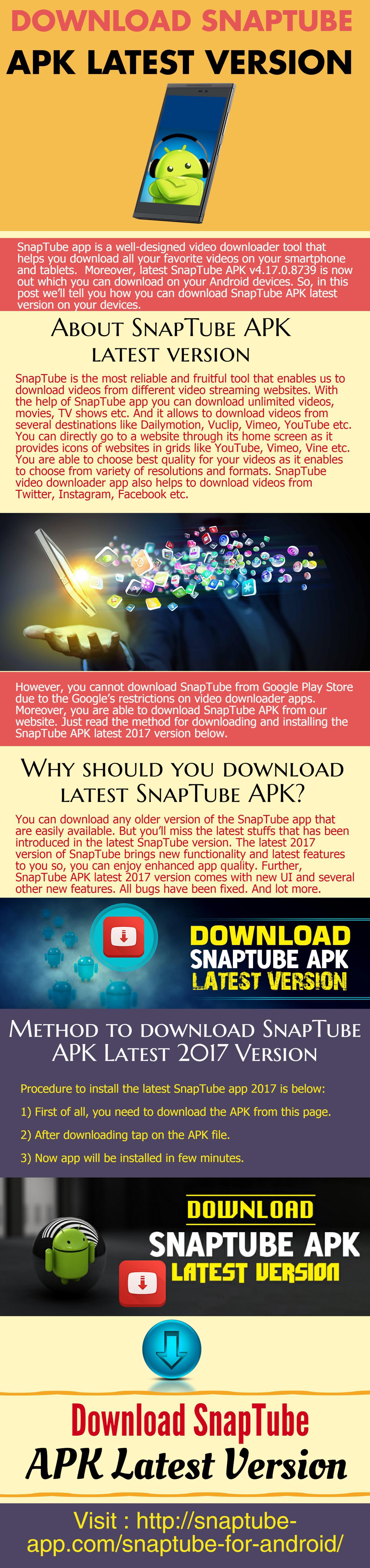 Download SnapTube APK Latest Version - LockerDome