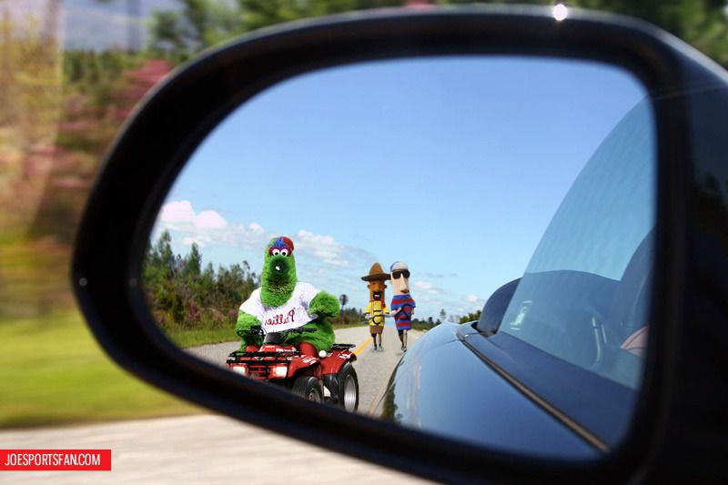 Objects In Mirror May Be Closer Than >> Attn St Louis Cardinals Bandwagon Objects In Rear Mirror May Be