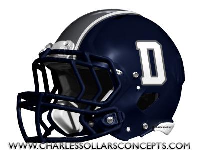 Dallas Cowboys Navy Blue Helmet Concepts
