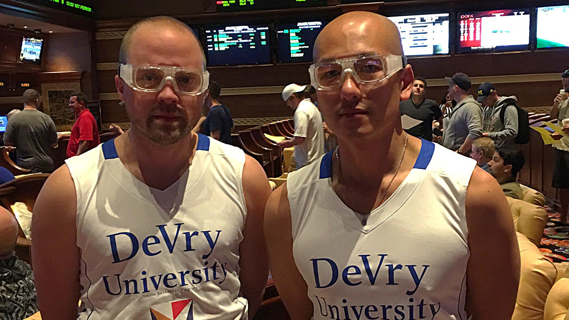 DeVry University basketball wins the 'swag' bracket