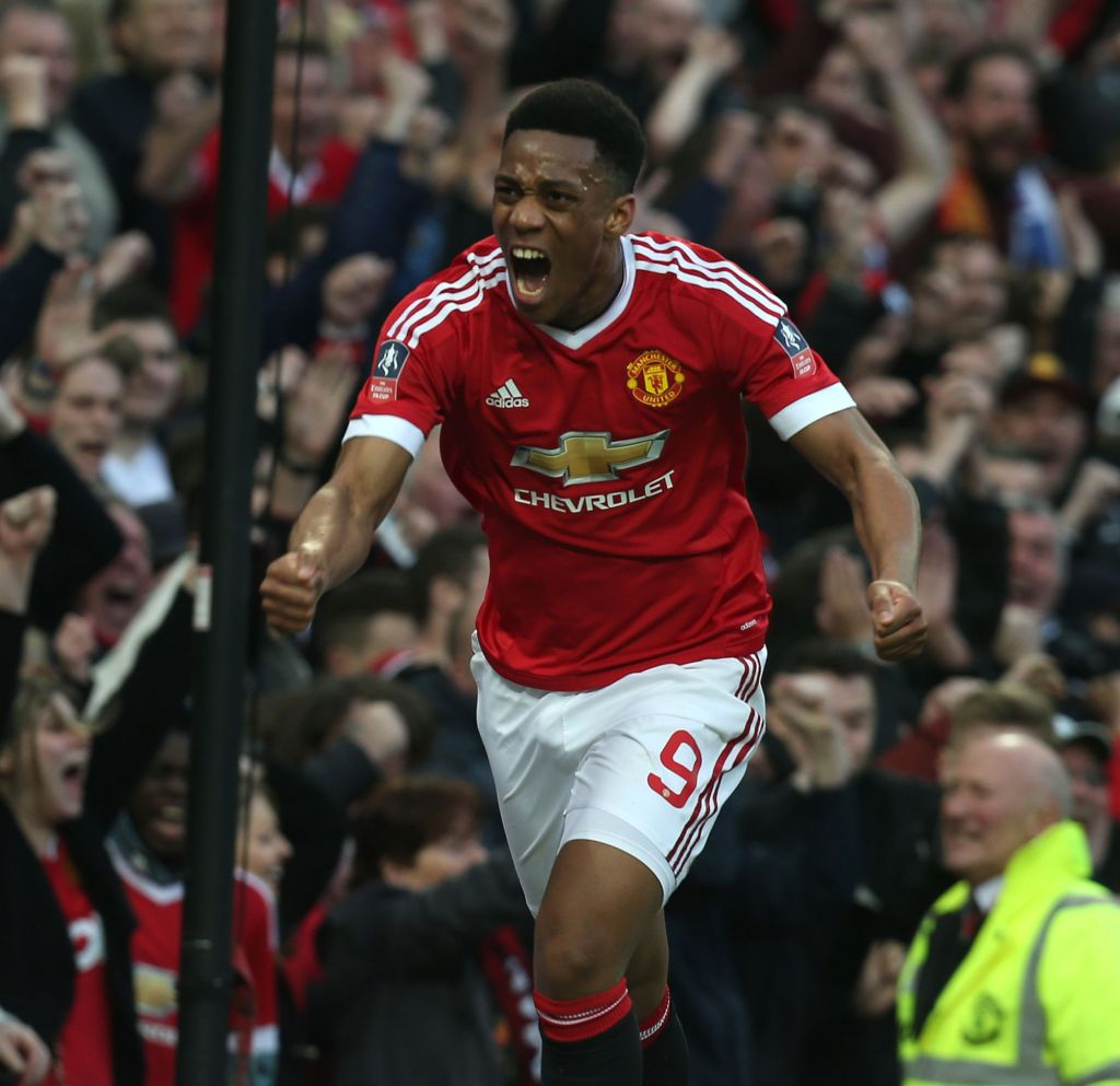 Manchester United S Anthony Martial Talks Debut Goal Vs: Anthony Martial Matches Ronaldo Feat