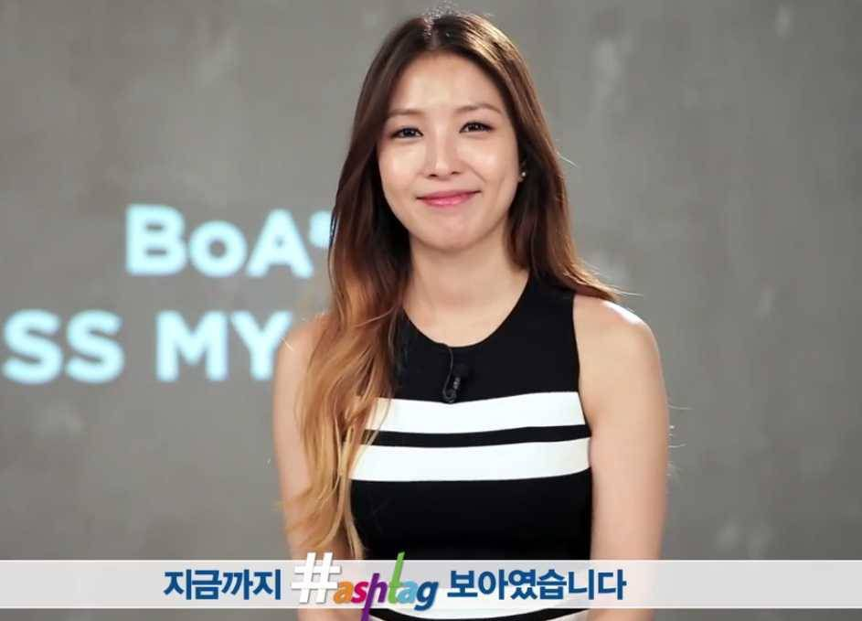 BoA calls her self composed songs her      babies       talks about blind