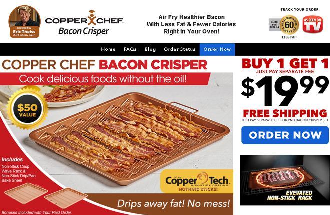 Copper Chef Bacon Crisper Review Does It Work Freakin